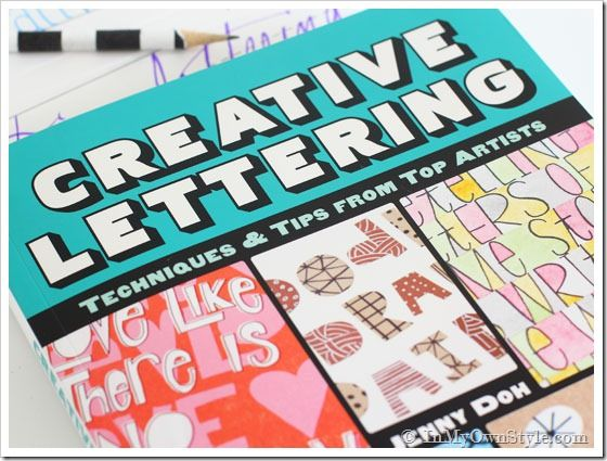 Book-Review-Creative-Lettering-by-Jenny-Doh Tips for better lettering