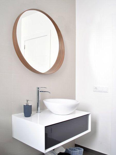 Baño de estética muy actual: lavabo