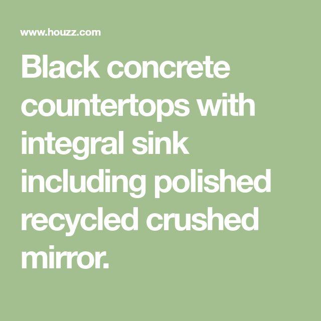 Best 25+ Polished Concrete Countertops Ideas On Pinterest