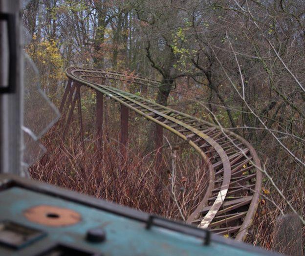 Creepy Abandoned Amusement  Park