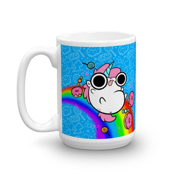 Tea,+Coffee,+hot+cocoa,+everything+is+better+with+unicorns!+  this+large+mug+holds+15oz    This+sturdy+white,+glossy+ceramic+mug+is+an+essential+to+your+cupboard.+This+brawny+version+of+ceramic+mugs+shows+its+true+colors+with+quality+assurance+to+withstand+heat+in+the+microwave+and+put+it+through...
