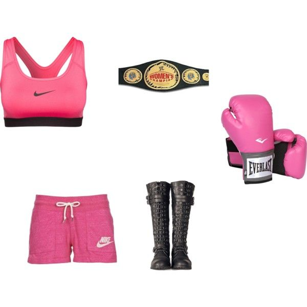Rae's boxing outfit