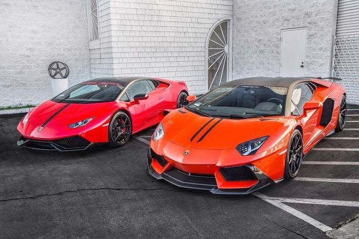 Lamborghini #Huracan and #Aventador