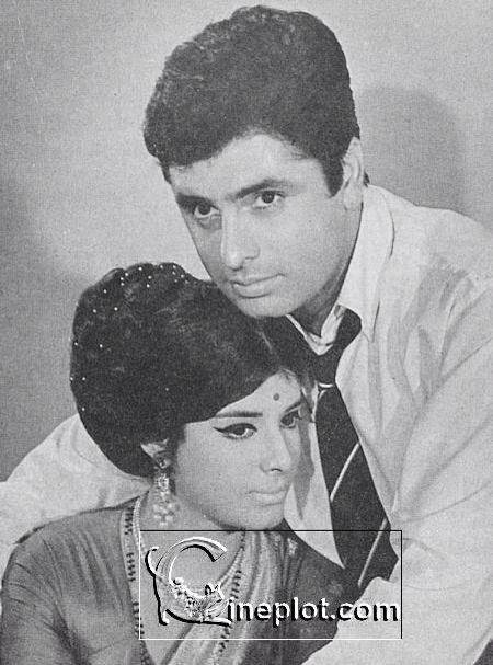 Sanjay Khan and Zaheeda