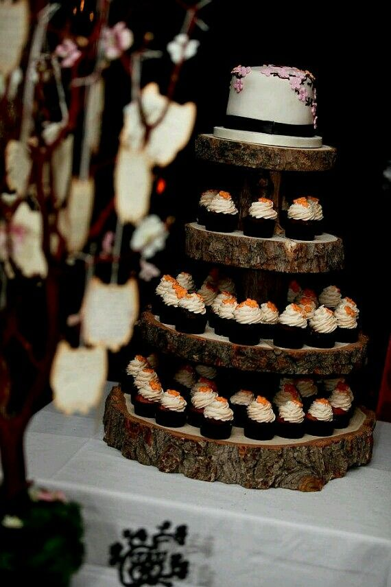 wedding cup cake stands 1000 ideas about rustic cupcake stands on 8965