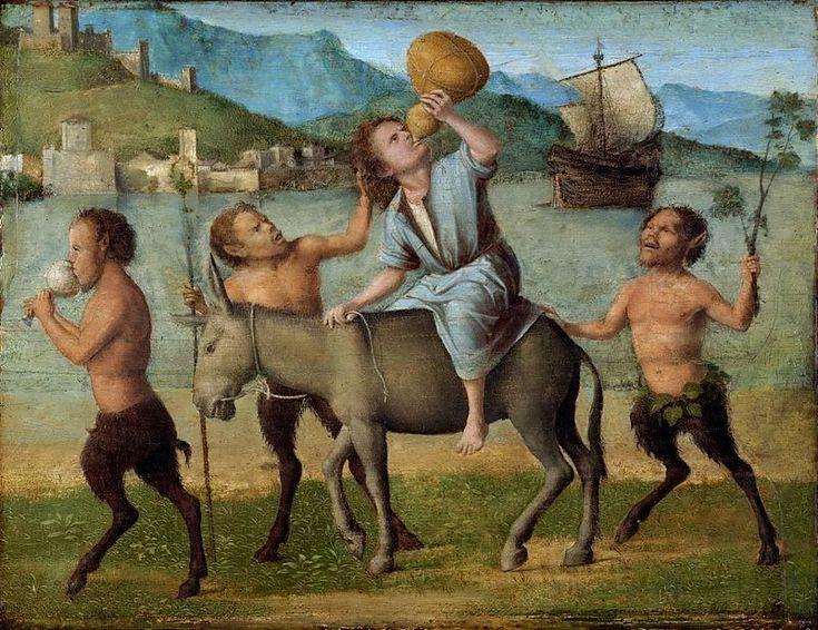 584. Cima da Conegliano - Sileno e satiri - Filadelfia, Philadelphia Museum of Art
