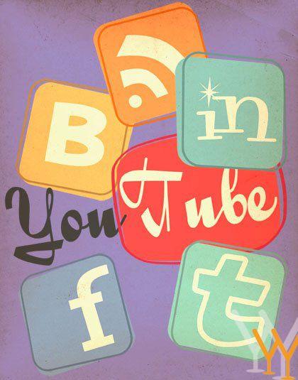 Retro Social Media