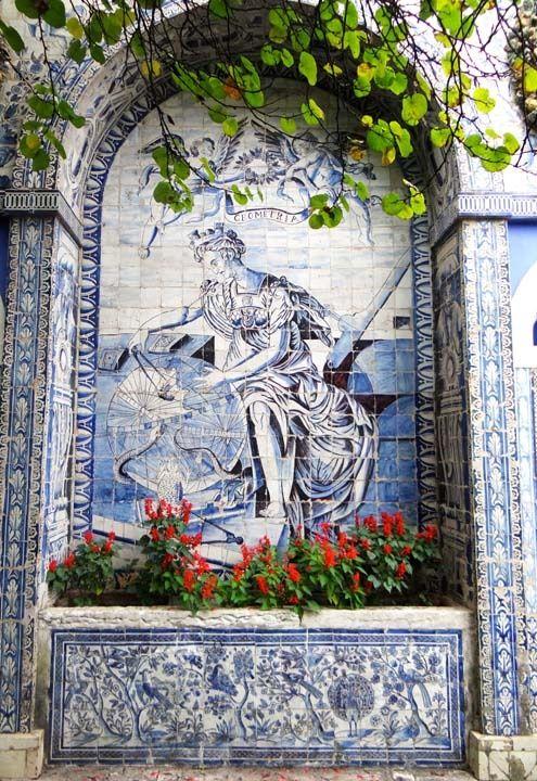 Tile work in Lisbon