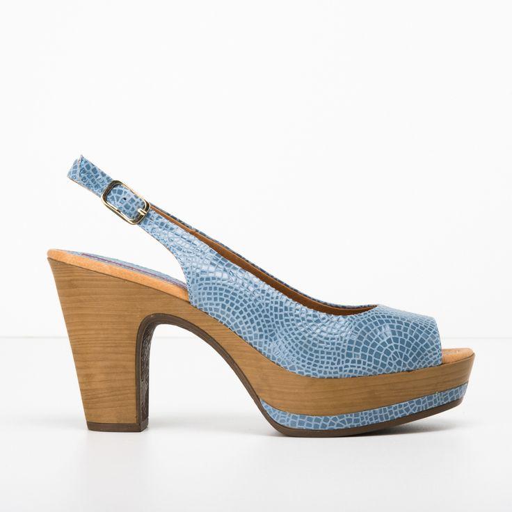 Anna F. zapatos de tacón con cierre con hebilla - Azul farfetch el-azul Mrg3TDF