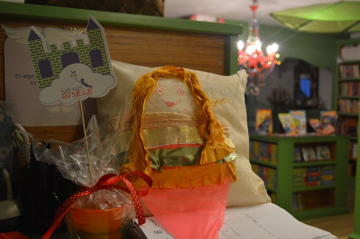 """""""The Princess and the Pea"""" activity- making pillows from scraps!"""