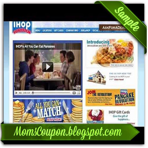 International House of Pancakes Coupon Codes. 8 Coupons. Shop sfathiquah.ml All Offers 8; Coupon Codes 8; Promotions 0; Printables 0; In-Store 0. Today's Top Coupon for Dec 2, $5 OFF $5 Off $25+ First Online Purchase. O GET PROMO CODE. PRINTABLE COUPON Enjoy all you can eat pancakes.5/5.