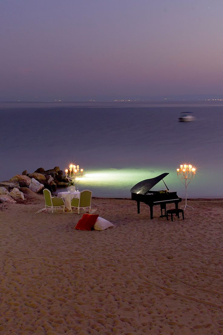 accras:  gyclli:  General-Danai Beach Resort, Chalkidiki, Greece  By Danai Beach Resort & Villas  Can't top this