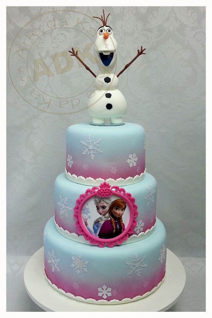 Frozen Cake My Work Pinterest Disney Elsa Anna And