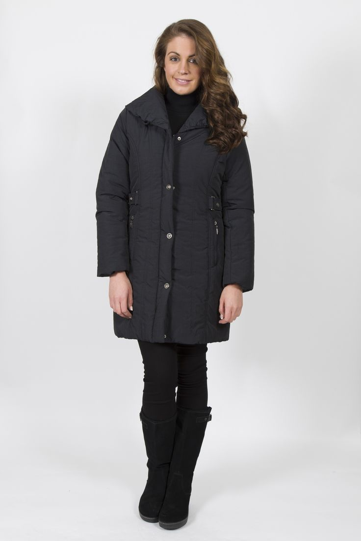 STEILMANN PUFF COLLAR 3/4 COAT