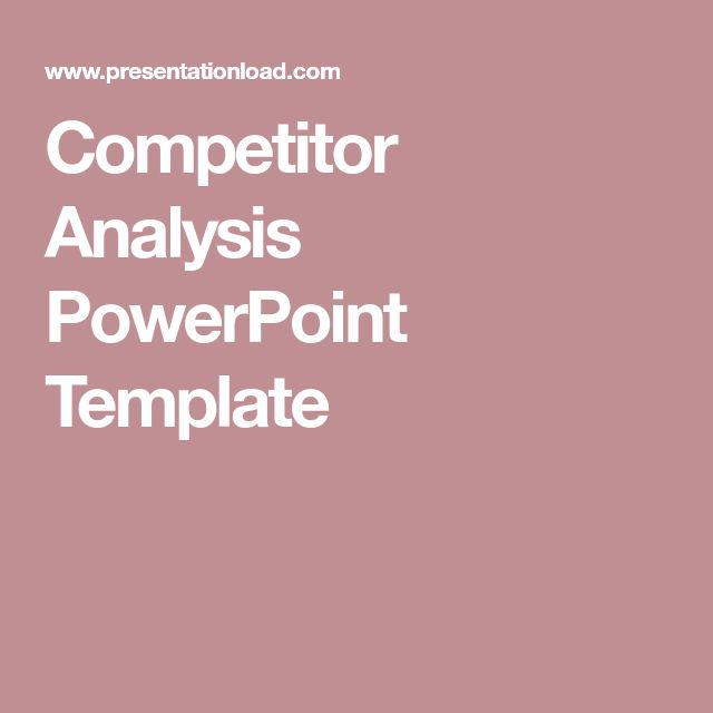25+ parasta ideaa Pinterestissä Competitor analysis Markkinointi - competitive analysis sample