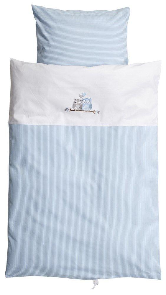 Baby Dan, Påslakanset, Vagn/vagga, Love Birds, Blå Sängkläder till vagn & vagga Textilier Barnrum på nätet hos Lekmer.se