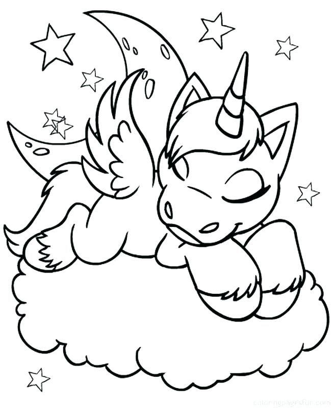 Los Mas Lindos Dibujos De Unicornios Para Colorear Y Pintar A Todo