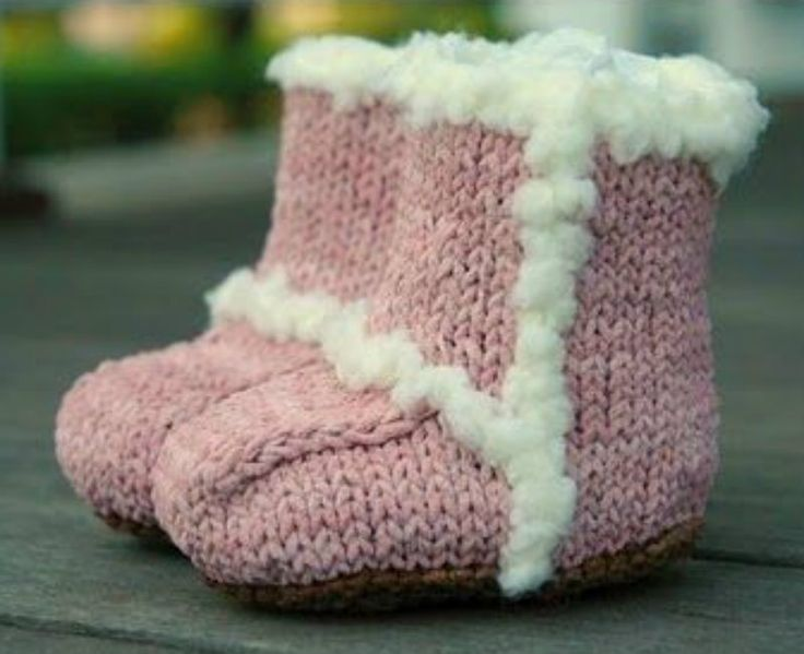 You'll love to make these Knitted Ugg Booties. We have FREE Patterns for these and Crochet versions too!