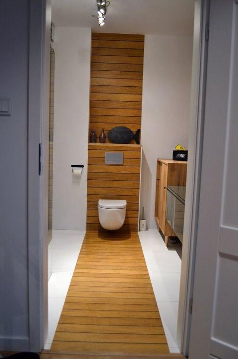 Drewno w aranżacji łazienki - Lovingit.pl