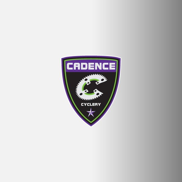 "Cadence Cycling 1.5"" Logo Decals"