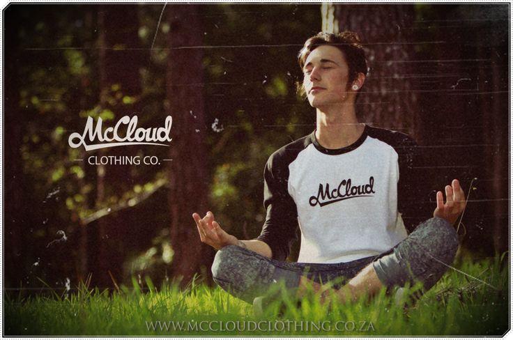 A McCloud 2-Tone (black and white), 3 quarter sleeve baseball tee. R180.00