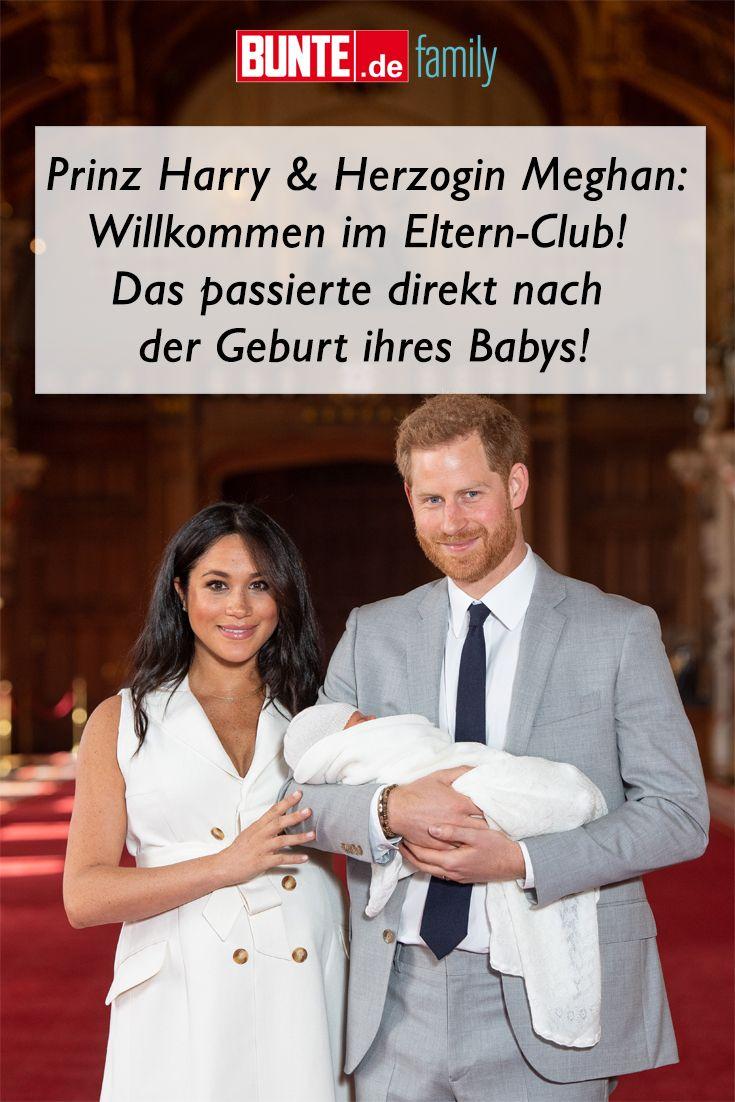 Prinz Harry Herzogin Meghan Willkommen Im Eltern Club Das Passierte Direkt Nach Der Geburt Ihres Babys Prinz Harry Eltern Zur Geburt