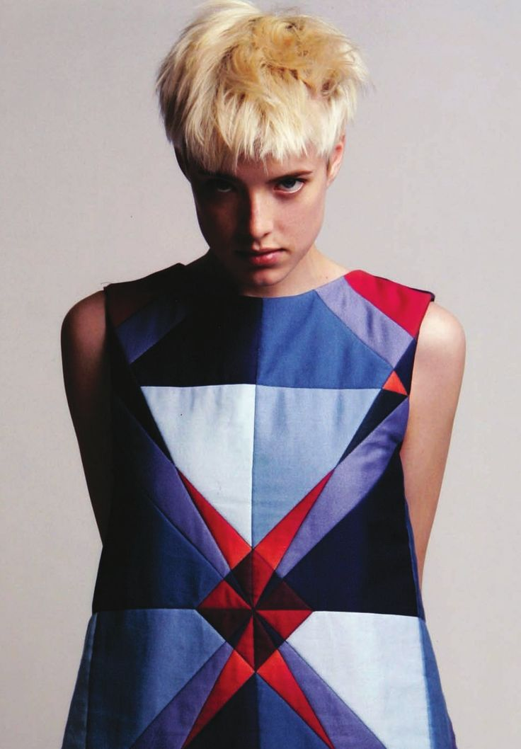 patchwork dress, in: fashion design construction 2009 by Anette Fischer - AVA books