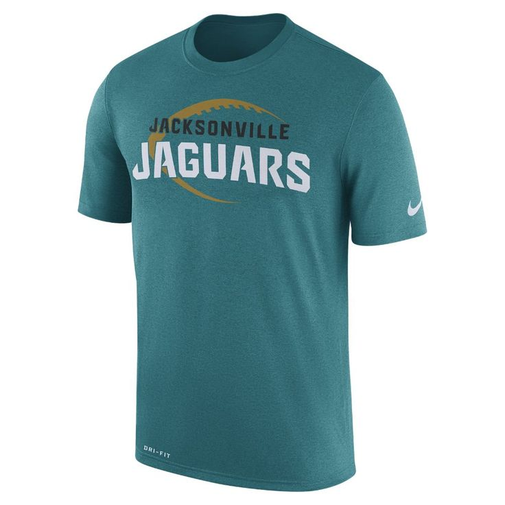 Nike Dry Legend Icon (NFL Jaguars) Men's T-Shirt Size 3XL (Blue)