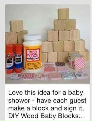 BABY SHOWER - Such a cute and simple baby shower game
