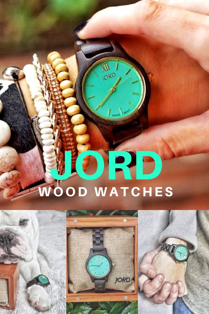 It's time to bring in the new year with JORD wood watches