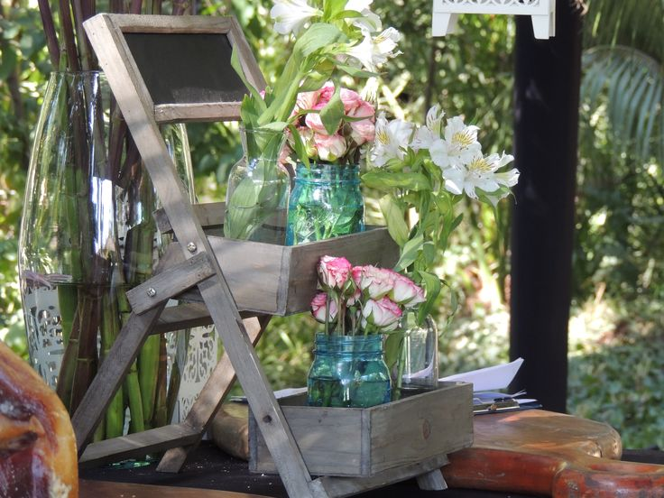 detalles buffet de flores