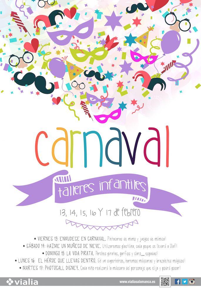 TALLERES INFANTILES CARNAVAL - Vialia Estación de Salamanca
