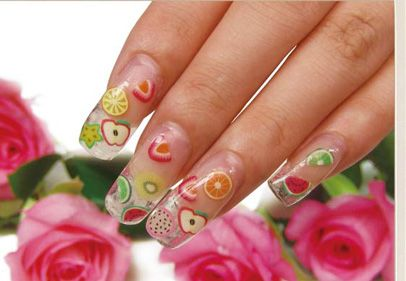 Awesome Cute Acrylic Nail Designs - http://nailarting.com/awesome-cute-acrylic-nail-designs/