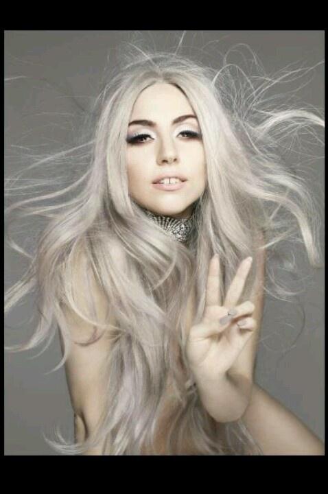 Ash blonde grey