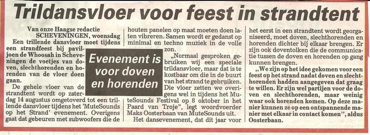 Telegraaf - juni 2010