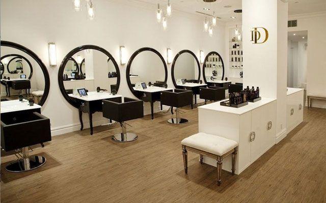 Las 25 mejores ideas sobre dise o de sal n de manicura en for Decoracion en peluquerias