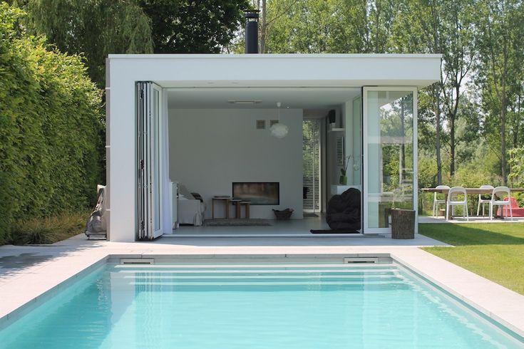 Bart Merckx – Architectenbureau » poolhouse te bornem