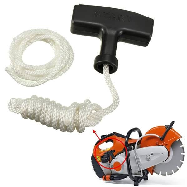 Chainsaw Strimmer Starter Recoil Pull Handle With Rope & Spare Cord  Worldwide delivery. Original best quality product for 70% of it's real price. Buying this product is extra profitable, because we have good production source. 1 day products dispatch from warehouse. Fast &...