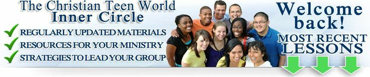 youth group lessons at Christian Teen World