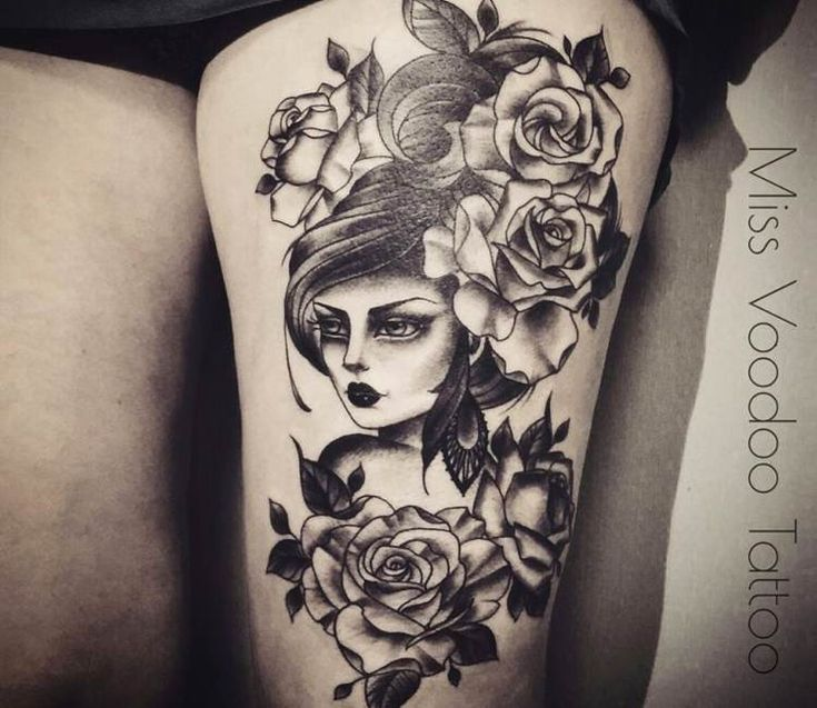 44 best tatuaggio nonna images on pinterest birds for Voodoo tattoo club