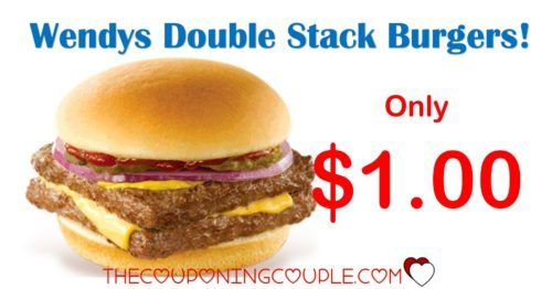 WOOHOO! I know where my kids will want to stop! Get Wendys Double Stack Burgers for only $1.00! Don't miss out on this limited time offer!  Click the link below to get all of the details ► http://www.thecouponingcouple.com/wendys-double-stack-burgers/ #Coupons #Couponing #CouponCommunity  Visit us at http://www.thecouponingcouple.com for more great posts!