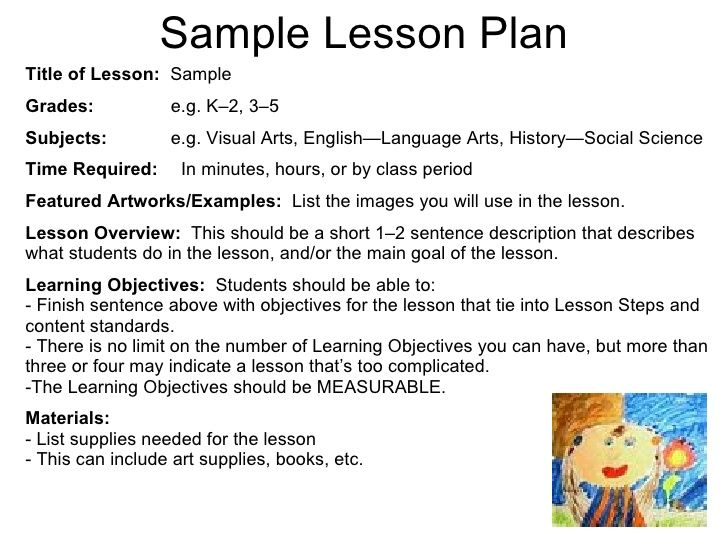 1000  ideas about lesson plan sample on pinterest