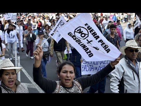 Mexican Gov. Faces Crisis of Legitimacy After Consumption Tax on Oil Cat...