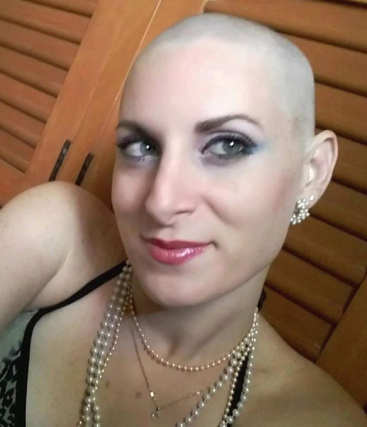 Bald and shaved women