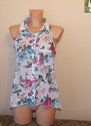 Kup mój przedmiot na #vintedpl http://www.vinted.pl/damska-odziez/bluzki-bez-rekawow/11964147-kolorowa-bluzka-w-kwiatki-w-stylu-vintage-select-12-l-40