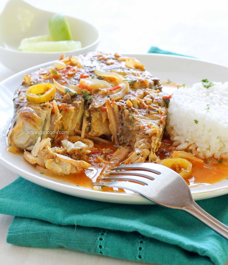 Learn how to make this super easy and healthy Caribbean-style King Fish.