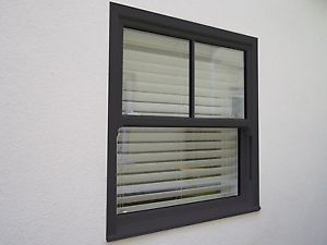 UPVC Sash Windows Sliding Sash Woodgrain Grey Anthracite 7016 Any Size £371