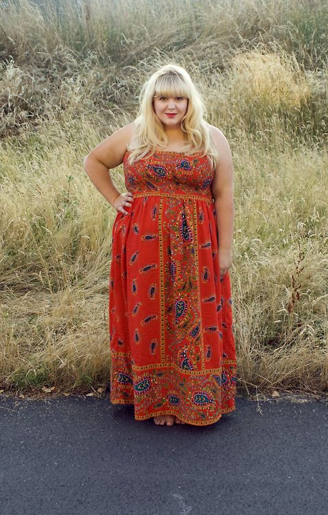 Pretty dresses for plus size women