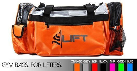 S|Lift Gym Bags are made for lifters! They're durable, aesthetic and fit all of your lifting accessories! We have received some amazing feedback so check them out at www.strongliftwear.com! Customer reviews viewable online! #strongliftwear #SLW   #gymbag   #sportbag  #trainingbag