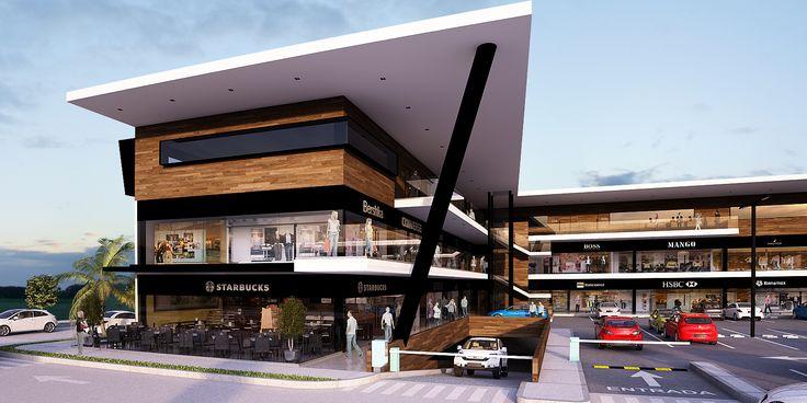 PLAZA COMERCIAL – SPV Arquitectos